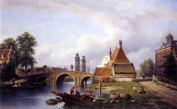 Het Rechthuys In Watergraafsmeer Amsterdam